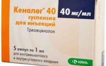 Инструкция по применению уколов Кеналог при болезнях суставов и воспалениях