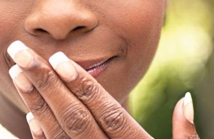 Признаки грибка во рту